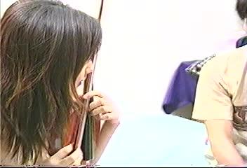 【鶴田美奈代】学校帰りのめちゃかわいい女子校生