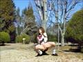 女装高生ピーチパイ春の陽だまり