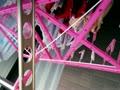 【洗濯物盗撮動画】ベランダで風になびいてヒラヒラとしているパンツやブラを盗撮